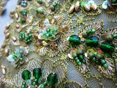Olive applique by Magical Mystery Tuca, via Flickr