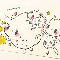 denise keeps requesting cute pokemon!! thanks QT 3.14  by birduyen