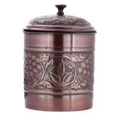 Old Dutch Antique Embossed Heritage Cookie Jar - 812