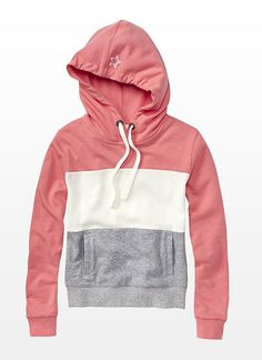 Color Block Hoodie.. love the colors!
