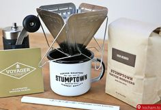 Kocham.to - Podróżny zestaw do parzenia kawy