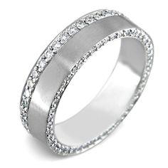 59 Best Men S Unique Wedding Rings Images In 2019 Diamond