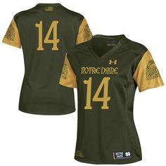 Buy authentic Notre Dame Fighting Irish merchandise. Go IrishFootball  JerseysCollege FootballTeam GearUnder Armour ... c3785b451