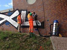 Graffiti removal | M&K Links Pty Ltd PO Box 32 Kingsgrove NSW 1480 Australia (02) 9186 8143 http://highpressurewashingnsw.com.au/