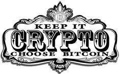 Keep it Crypto Sticker