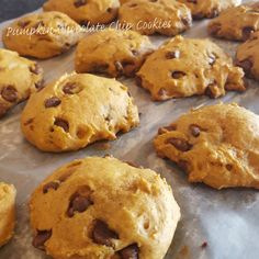 If you know me at all, you know I'm obsessed with pumpkin. I love pumpkin everything, and I especially love this cookie recipe! Ingredients 1 c. canned pumpkin 1 c. sugar 1/2 c. vegetable oil 1 egg 2 c. flour 2 t. baking powder 2 t. ground cinnamon 1/2 t. salt 1... #chocolatechip #cookies #pumpkin