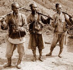 OLD KOREA - LAND OF THE MORNING CALM -- Tiger Hunters in the Hills Outside of SEOUL by Okinawa Soba, via Flickr