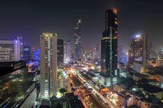 Top 10 Rooftop Bars in Bangkok: Die genialsten Skybars Sky Bar Bangkok, Hotels In Bangkok, Rooftop Bar Bangkok, Best Rooftop Bars, Beste Hotels, Skyline, Before Sunset, Marriott Hotels, Cafes