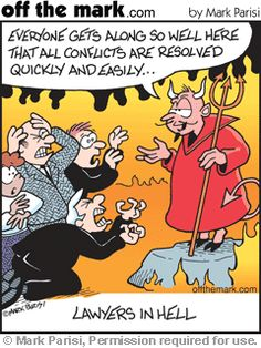 #Lawyers in hell