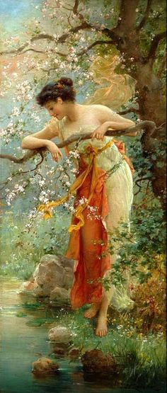 HANS ZATZKA.... an Austrian artist ...3/8/1859--12/17/1945...... He was a painter of religious compositions, allegorical subjects, genre scenes  figures... He was the student of the Academy of Fine Arts of Vienna from 1877 to 1882.... He decorated numerous churches in Vienna, Mayerling, Olmutz  Innsbruck.