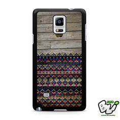 Apple Aztec Wood Samsung Galaxy Note 4 Case