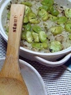 そら豆鶏の中東風ご飯 5/5 fava beans, chicken mediterranean spiced rice