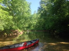 Canoeing and some exciting Tenkara action on my secret river