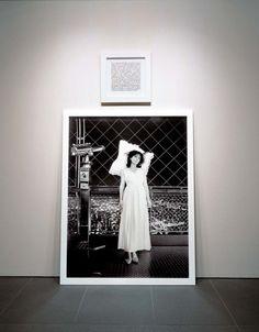 "SOPHIE CALLE ""Room with a view"" / ""Chambre avec vue"" 2003 Black and white print, frames / Photographie N/B, texte, aluminium, encadrement 70 x 51 inches + 20 x 20 inches / 170 x 130 cm + 50 x 50 cm ENG Tour Eiffel, Photos, Pictures, Les Oeuvres, Photo Art, Art Photography, Polaroid Film, Tours, Contemporary"