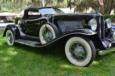 1931 Auburn Boattail Speedster.
