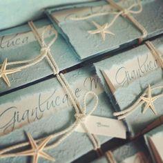 Wedding invitation ...marine style