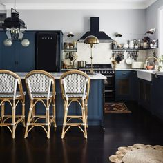 Tour a Sydney Home Filled with Color and Curiosity #SOdomino #room #interiordesign #furniture #table #kitchen #floor #diningroom #flooring #chair #kitchen&diningroomtable