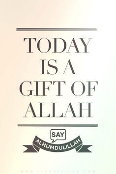 lionofallah:Realize that today someone is being buried and someone is fighting for his or her own life, so know that when you're reading this, you're so blessed for Allah Azza wa jall has gifted you another day to redeem your soul. So indeed, say Alhamdulillah.  www.lionofAllah.com