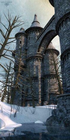 architecture, castle, and fairy tale image Beautiful Castles, Beautiful Buildings, Beautiful Places, Beaux Arts Architecture, Beautiful Architecture, Chateau Medieval, Medieval Castle, Castle House, Castle Ruins
