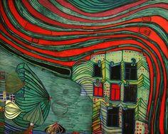 Art is not a luxury, it is a necessity. Abstract Expressionism, Abstract Art, Modern Art Pictures, Mural Art, Wall Art, Friedensreich Hundertwasser, Cubism Art, Aboriginal Art, Science Art