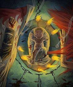 Resultado de imagen para kushina manga muerte
