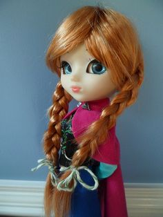 custom Princess Anna of Arendelle Pullip doll from Disney's Frozen - by Babelglyph on Flickr