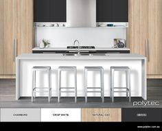 Design your own colour schemes for Kitchens.