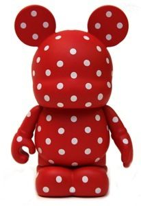 Minnie Mouse vinylmation from the Colour block series
