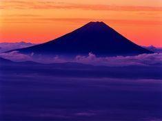 Mt.Fuji, Japan Japanese Nature, Japanese Landscape, Japanese Beauty, Fuji Mountain, Monte Fuji, Tribal African, Great View, Sunrise, Beautiful Scenery