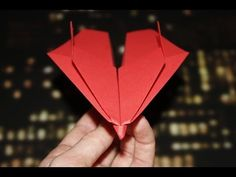 Hello my name is Dennis and JustOrigami is my Origami tutorial channel. The origami models in my video tutorials are all made with simple american printer pa. Make A Paper Airplane, Paper Plane, Paper Art, Paper Crafts, Origami Videos, Origami Bird, Origami Tutorial, Camping Crafts, Christmas Toys
