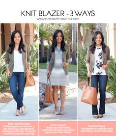 Knit Blazer - How You Can Wear It For Almost Anything