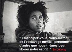 Bob Marley - 18 Citations - La vache rose Bob Marley Citation, Bob Marley Quotes, Words Quotes, Life Quotes, Jamaica, Image Citation, Black Tigers, New Life, Einstein