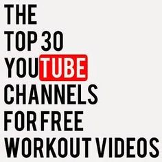 Top YouTube Workout Channels | Diary of a Fit Mommy | Bloglovin'
