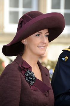Claire de Belgique at the Wedding Of Prince Guillaume Of Luxembourg & Stephanie de Lannoy