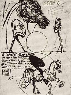 "From the ""Nose"" Series // William Kentridge"