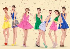 Pinup girl dress up night could be fun!