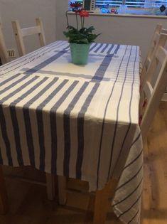 Tea towel tablecloth