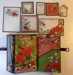 annes papercreations: Graphic 45 Time to Flourish 8 x 5 mini album part 1