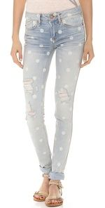 Marc by Marc Jacobs Rolled Slim Jeans $198