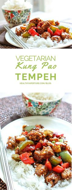 Recreating traditional Kung Pao recipe into a vegetarian meal is a tasty upgrade when you use tempeh.
