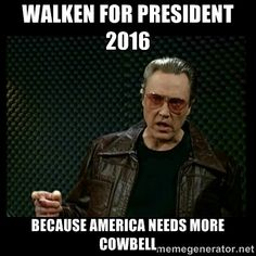 Walken for president 2016 because america needs m…