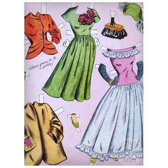 1949 ELIZABETH TAYLOR | Uncut Reproduction Paper Doll  |  8 of 8