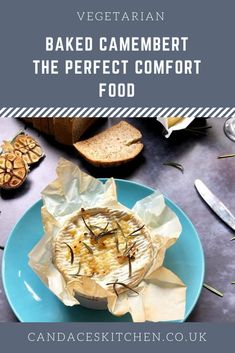 Gooey, creamy melted cheese, flavoured subtly with garlic, rosemary, and good quality olive oil. Baked Camembert, Vegetarian Bake, Recipe Boards, Melted Cheese, Your Recipe, Main Meals, Olive Oil, Garlic, Beverages