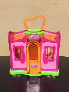 Polly Pocket 2004 Fashion Modeling Closet Toy #Mattel #HousesFurniture