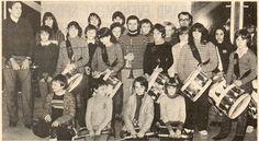 """Souppes-sur-Loing (77) - L'union musicale à """"réceptionné"""" son nouveau chef de musique - Photo : L'éclaireur du Gâtinais et du Centre 21.01.1982"""