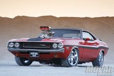 Visit The MACHINE Shop Café... ❤ Best of Dodge @ MACHINE ❤ (1970 Dodge Challenger R/T)