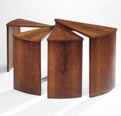 Pierre Chareau :: Table Moderniste