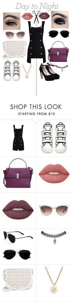 """""""Untitled #44"""" by susi-velasquez on Polyvore featuring Posh Girl, Raf Simons, Henri Bendel, Lime Crime, Gucci, Calvin Klein, Wet Seal, Under One Sky, Kate Spade and DayToNight"""
