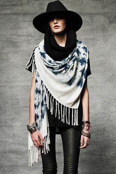 Ilbal Scarf by Ketzali. Hand-dyed with 100% organic GOTS certified indigo by artisans in Guatemala.