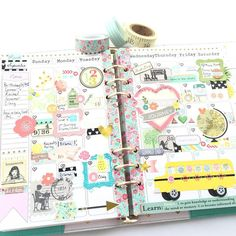 quietlycrafted: Back to school! #backtoschool #planner #marionsmith #theplannersociety